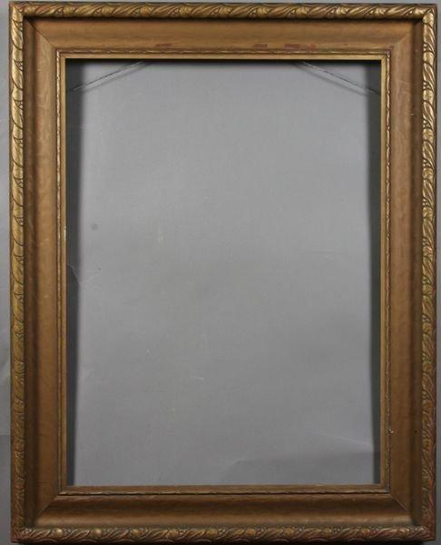 """5019: Bronze gilt frame, outside: 29 3/4"""" x 23 1/2"""""""