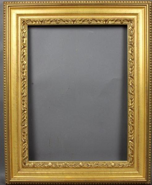 "5020: Late 20th C. gilt frame, outside: 14 1/2"" x 18"""