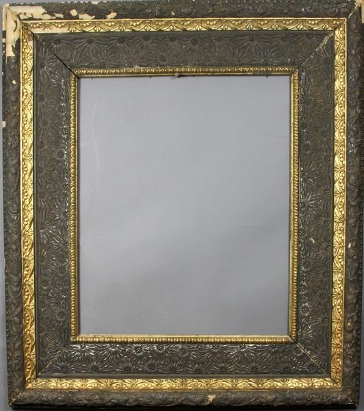 """5022: 19th C. frame, outside: 29 3/4"""" x 33 3/4"""""""