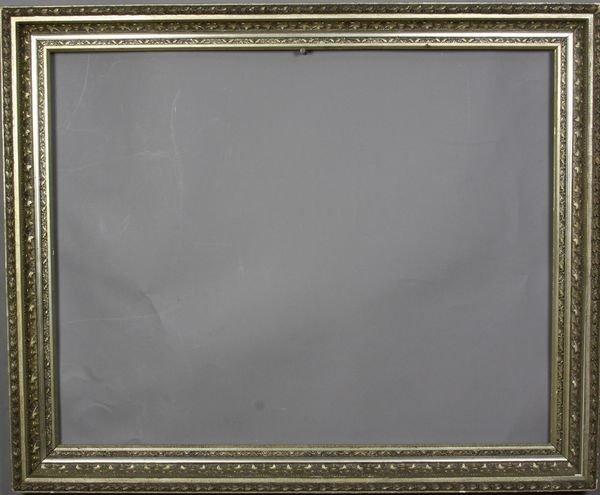 """5023: Gilt frame, outside: 26 1/4"""" x 32"""""""