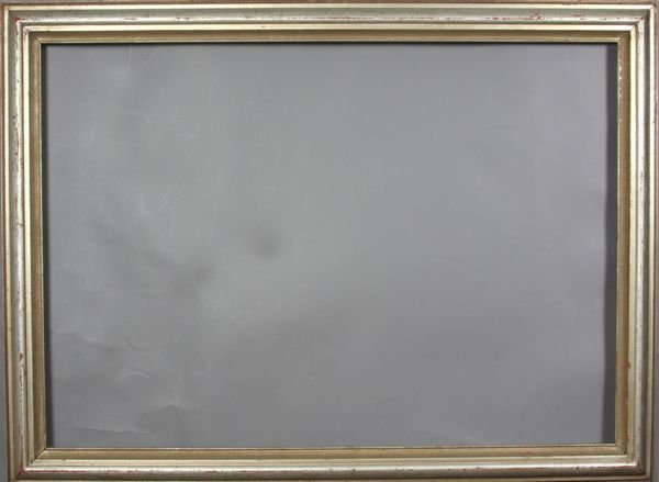 "5024: Silver gilt frame, outside: 28 1/4"" x 38"""