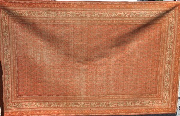 "6003: Antique Persian Seraband Rug, 7' 11"" x 4' 5"""