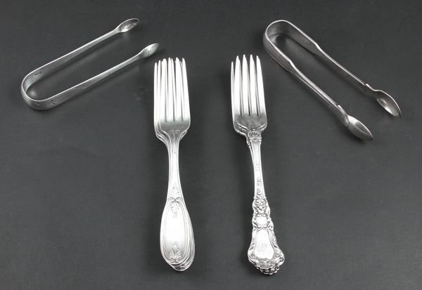 6010: Silver Flatware, Gorham, Mappin & Webb, etc.