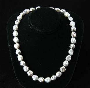 Tahitian Keshi Cultured Pearl Necklace