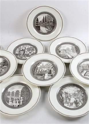 Set of Eight Wedgwood Plates