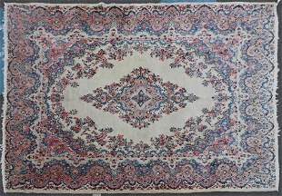 Semi-Antique Persian Kerman Rug