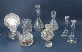Assorted Glass Items, Waterford, Val Saint Lambert