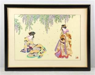 Hisashi Otsuka Japanese Serigraph