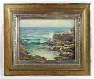 Cullen Yates Painting Off the Maine Coast