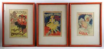 Vintage Framed Theatre Lobby Cards