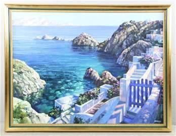 Howard Behrens Mediterranean Painting