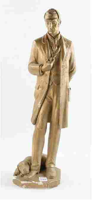 Sherlock Holmes Statue and Collection of Ephemera