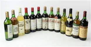 Wine Lot of (13) Bottles