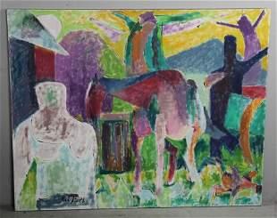 Knath Oil on Canvas