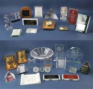 Assorted Presentation Trophies Warren Pete Musser