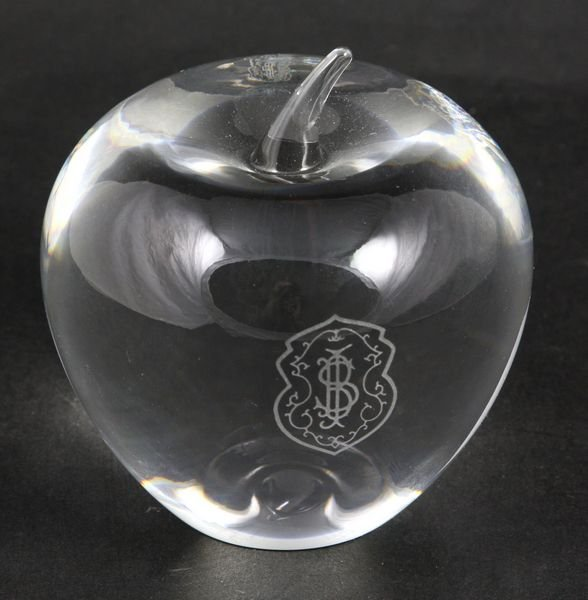 "8002: Tiffany & Co. ""Apple"" Paperweight"