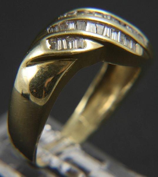 9006: 14k Gold Diamond Ring, 1 ctw