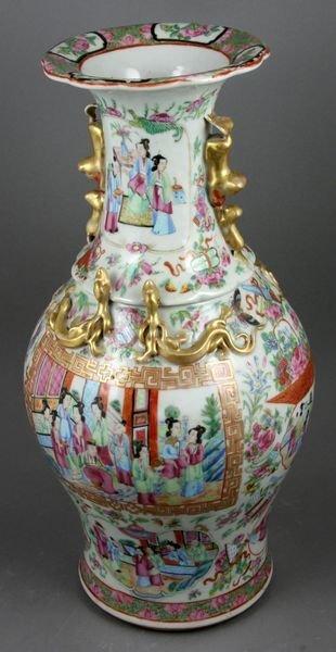 4: Exceptional 19th C. Famille Rose Porcelain Vase
