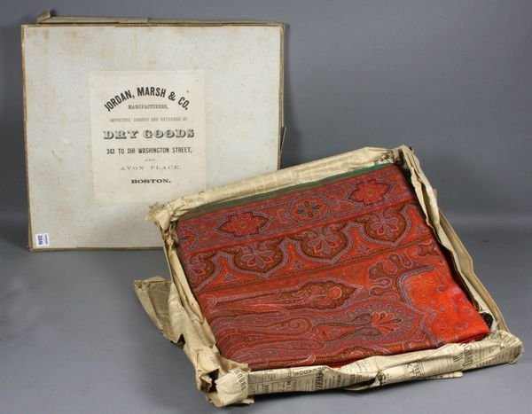 20: Old Paisley in the Original Box Dated 1902