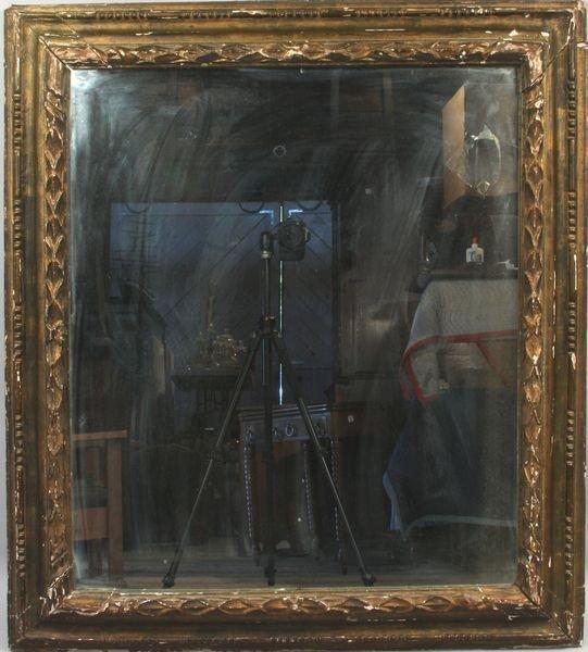 24: 18th C. Continental Giltwood Framed Mirror