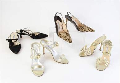 Manolo Blahnik Pumps and Evening Shoes