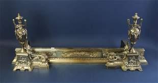 Victorian Style Bronze Chenet