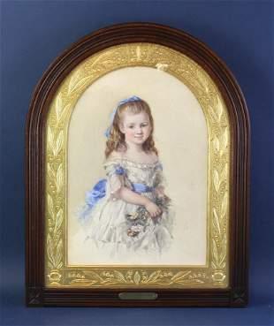 Isabel Naftel, Portrait of Winifred Bombass