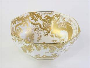 Royal Crown Derby Gold Aves Center Bowl