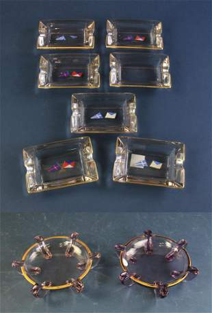 Private Yacht Signal Ash Trays