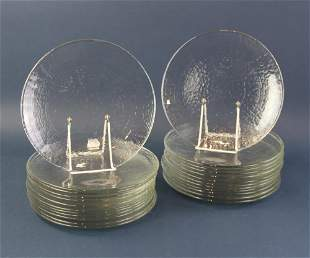 Glass Dinner Plates