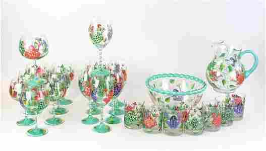 Frog Fantasy Glassware Set