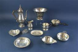 Collection of Sterling Silver Hollowware