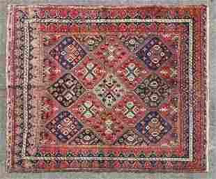 Late 19thC Afshar Persian Rug