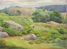 2010: Alice R. Hardwick, Rockport Landscape, w/c