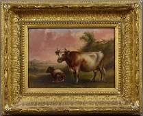 2286: Thomas K. Van Zandt, Pastoral Scene, o/panel