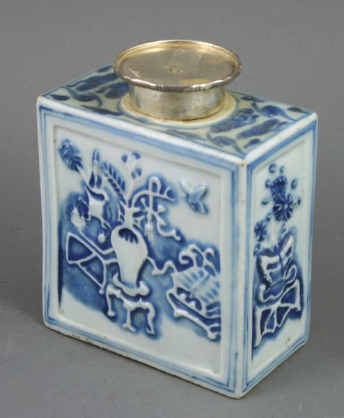 3005: Chai Ching Chinese Porcelain Tea Caddy