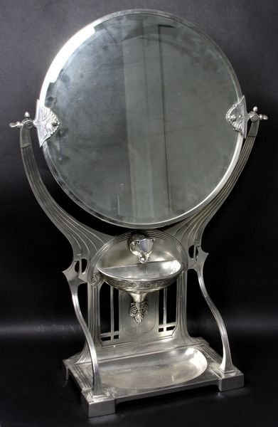 3007: Italian Art Nouveau Mirror, Made for J. Peterman