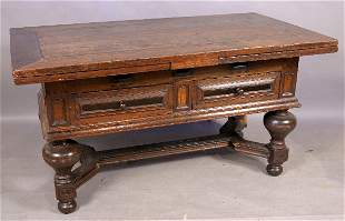 LATE 17TH/EARLY 18TH CENTURY DUTCH DRAWER TABLE