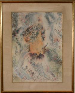 SIGNED SILES WATERCOLOR