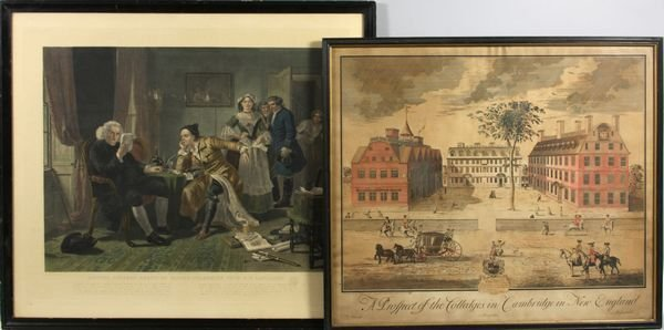 4024: Two (2) late 19th-early 20th C. English Prints