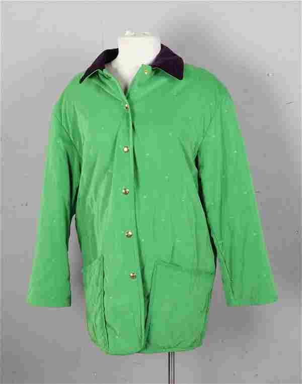 Hermes Green Jacket