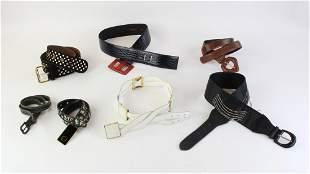 Group of Ladies Fashion Belts
