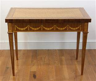 Russian Swivel Top Games Table