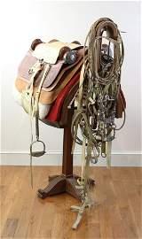 Presentation Saddle Made for Henry Ford II