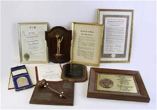 Collection of Henry Ford II Presentation Awards