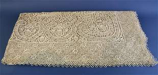 Hand Crocheted Fancy Tablecloth