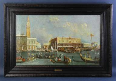 In the Manner of Canaletto, View of Venice