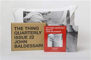 The Thing Quarterly, Issue 22, John Baldessari