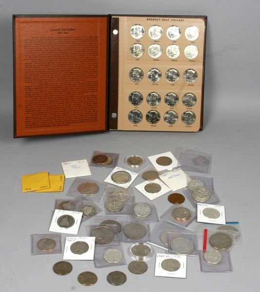 5003: Group of miscellaneous half dollars and dollars