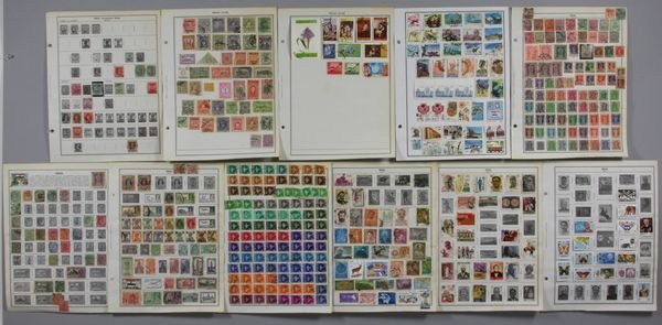 5016: Group of stamps from India and Indian states